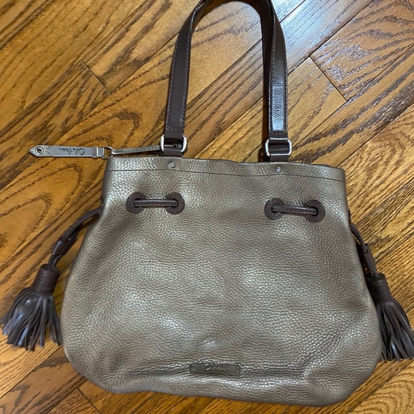 Large Cole Haan Pebbled Leather Purse 😍